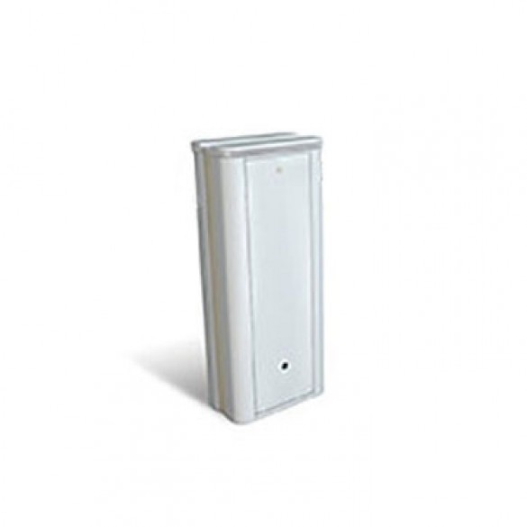 B680H Automatic Barrier Operator S Kit With White Cover - FAAC 1046801WH (Barrier Arm Not Included)