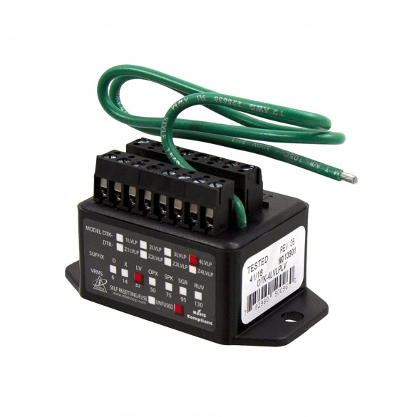 Surge Protector for up to 4 Low Voltage Circuits - FAAC 2357