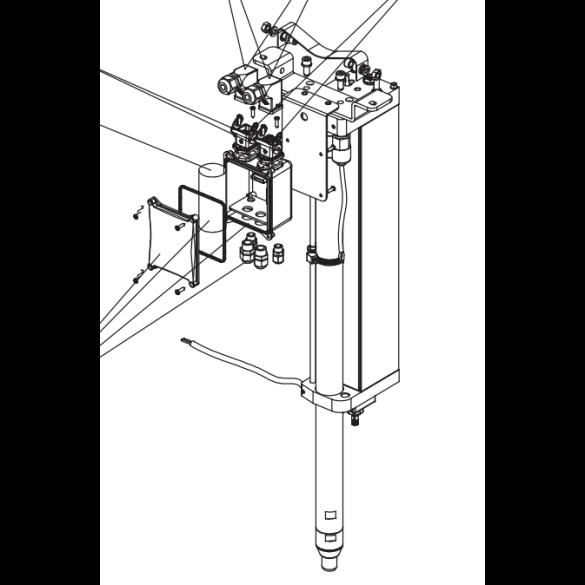 J275HA Hydraulic Unit H600 new connectors 2012 - FAAC 63002246