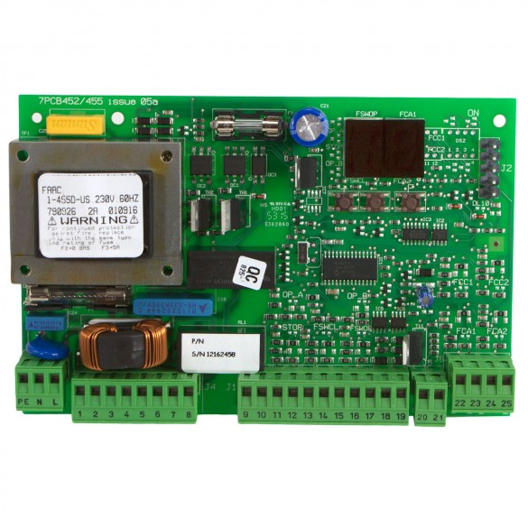 790926 455D FAAC Replacement Control Board