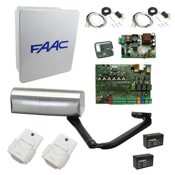 390 Swing Gate Operator Basic Single Kit - FAAC 104572.5