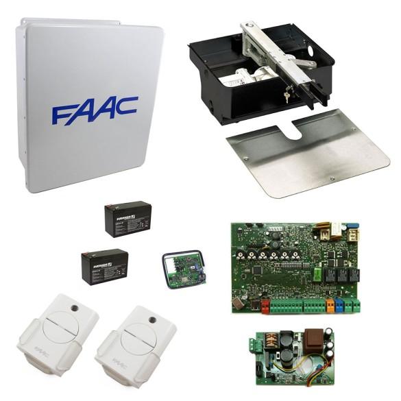 770 In-Ground Swing Gate Operator Basic Single Kit - FAAC 106753.5