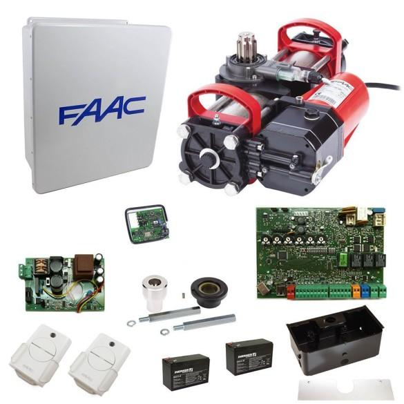 S800H SBW 100 Degree In-Ground Hydraulic Swing Gate Operator Kit - FAAC 108714.5