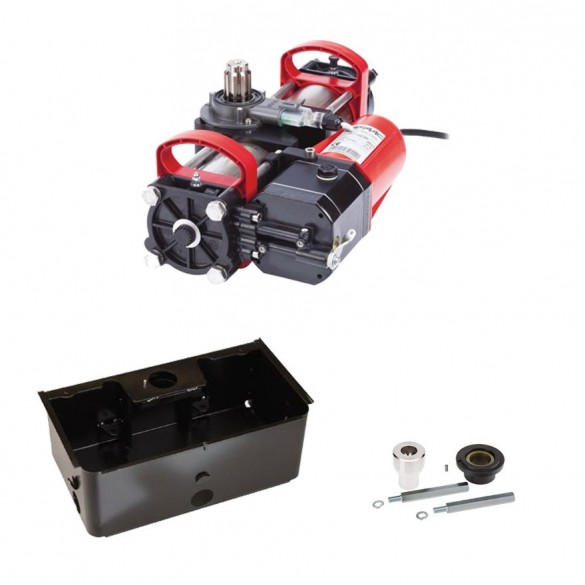 S800H SBW 180° In-Ground Hydraulic Swing Gate Operator Slave Kit (In Support Box) - FAAC 108715151.5