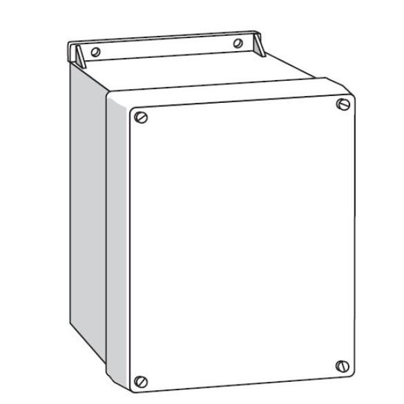 10x12 Fiberglass Enclosure with Backplate - FAAC 2359