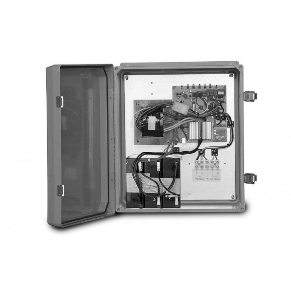 Dual Gate Battery Backup - Controls Two Separate Full Systems (230V) - FAAC 3523