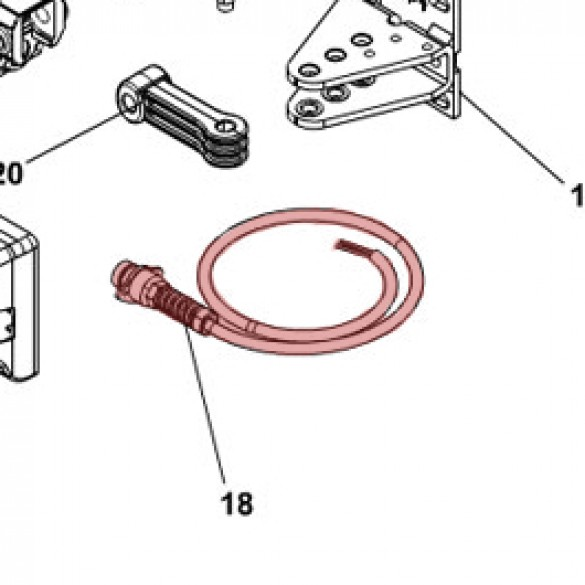 Molded Cable Kit for S450H - FAAC 63001935