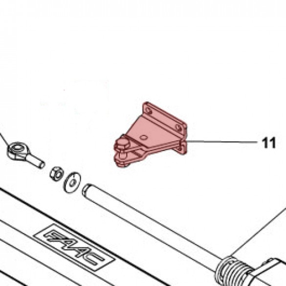 Front Bracket for S450H - FAAC 63001945