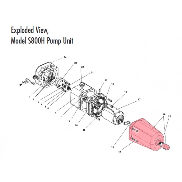 Motor Cover (Highlighted Part Only)