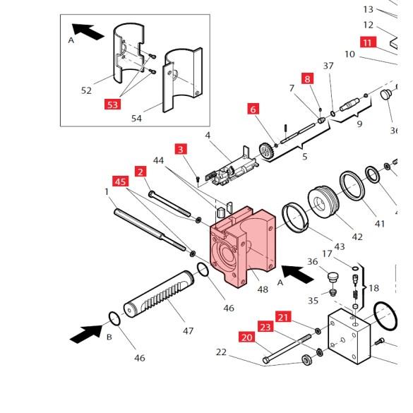 Ram Body for 760 - FAAC 7160505