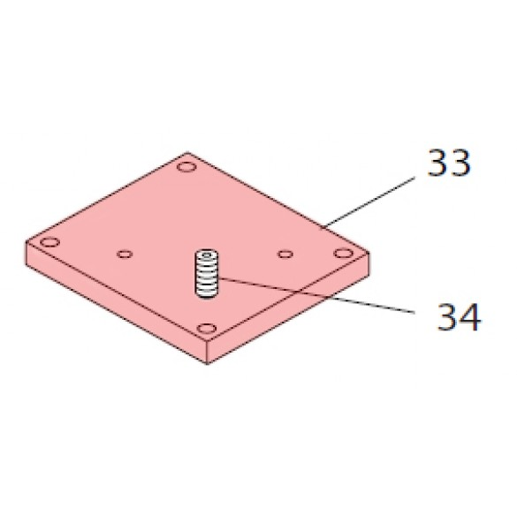 Leveling Plate - FAAC 7287515