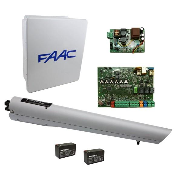 S418 Swing Gate Operator LE Single Kit - FAAC 999001.1