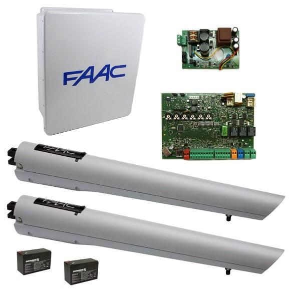 S418 Swing Gate Operator LE Dual Kit - FAAC 999002.1