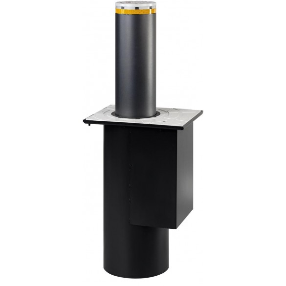 J200 SA 600 Semi-Automatic Retractable Bollard for Traffic Control in Painted Steel - FAAC 116508