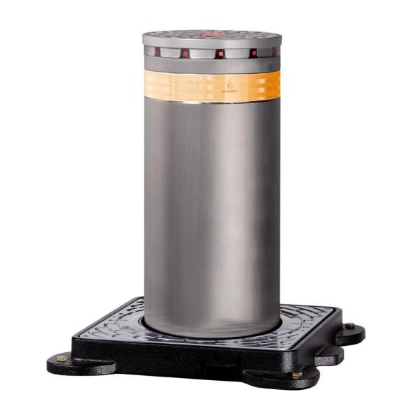 J275 HA 600 Automatic Retractable Traffic Bollard in Painted Steel - FAAC 116006