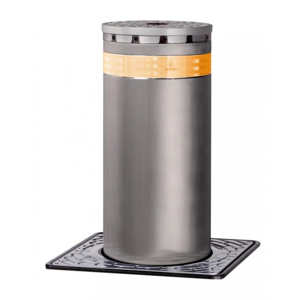 J275 F 600 Fixed Traffic Bollard in Stainless Steel - FAAC 116040