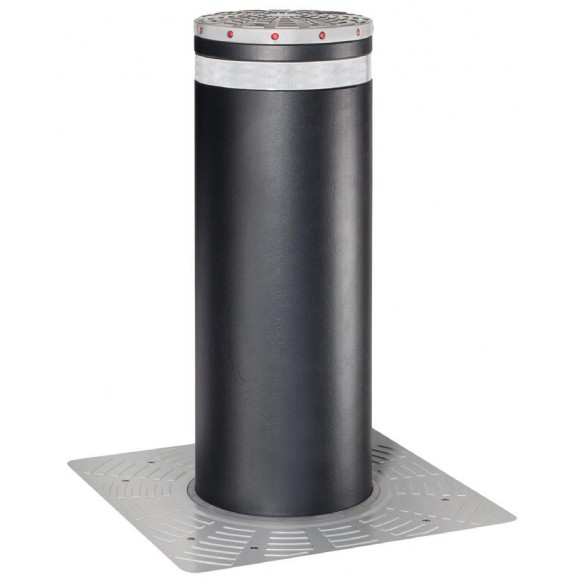 J355 HA M50 EFO Automatic Retractable Security Bollard in Stainless Steel - FAAC 116382