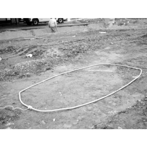 Pave Over Loop 4 x 10 with 30 ft - Lead FAAC 2596