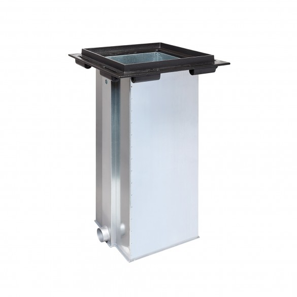 Stainless Steel Foundation Pit For J355 HA Automatic Bollards - FAAC 116110