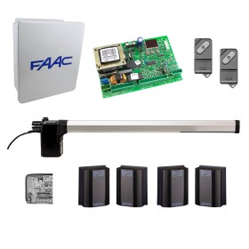 412 DX Swing Gate Operator Kit for Right Hinged Gates (14x16 Enclosure) - FAAC 412DX1S.5