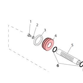 Piston - FAAC 7350155