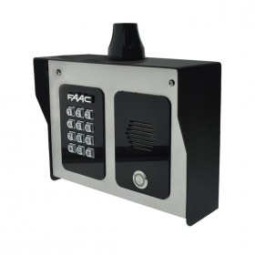 FCI 4000 Series 4G Cellular Intercom Entry System With Keypad and Camera - FAAC 4401