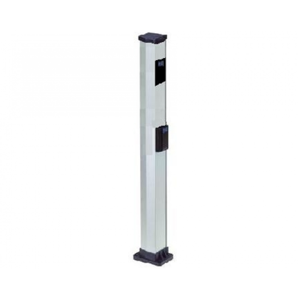 """Double 44"""" Aluminum Mounting Post for Photocells - FAAC 401035/737630.5"""