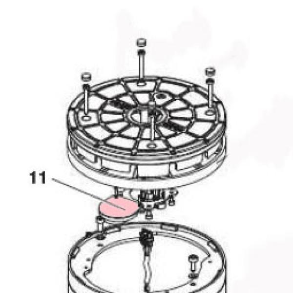 J275HA wired buzzer - FAAC 63000593