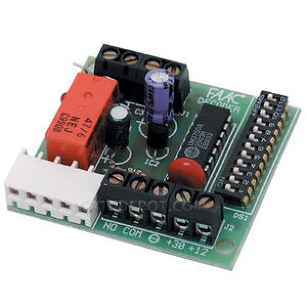 DS Decoder for Digikey - FAAC 785502