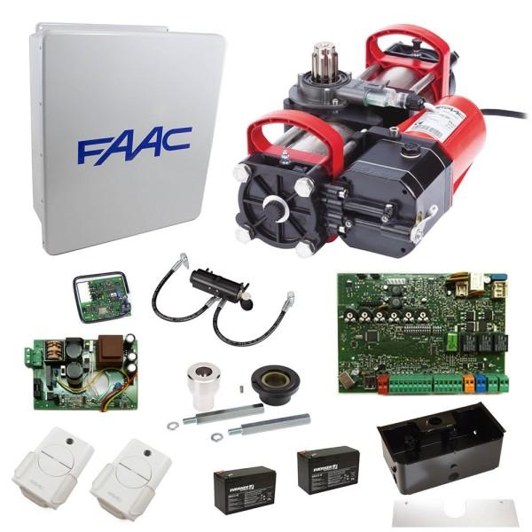 S800H CBAC 100 Degree In-Ground Hydraulic Swing Gate Operator Kit - FAAC 108710.5