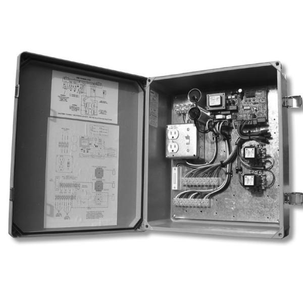 455D Control Board with 14x16 Fiberglass Enclosure (115V) - FAAC 455D115F.5