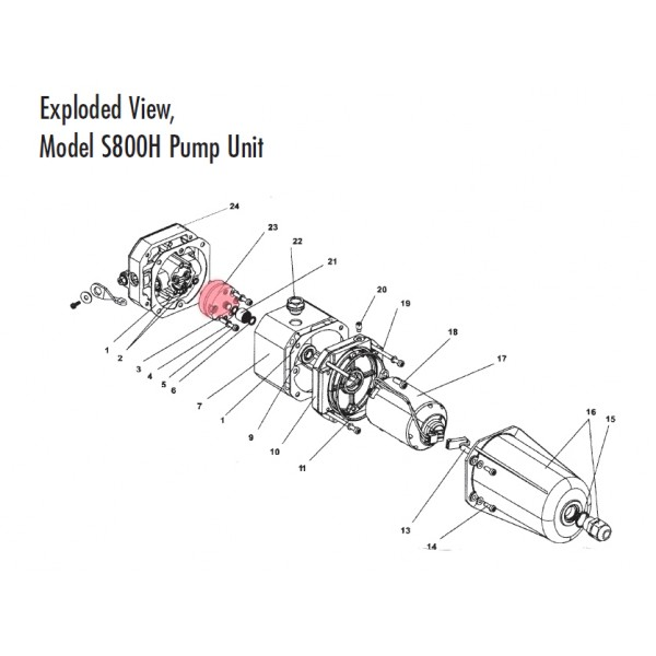0.5 LT 10010 Pump (Highlighted Part Only)