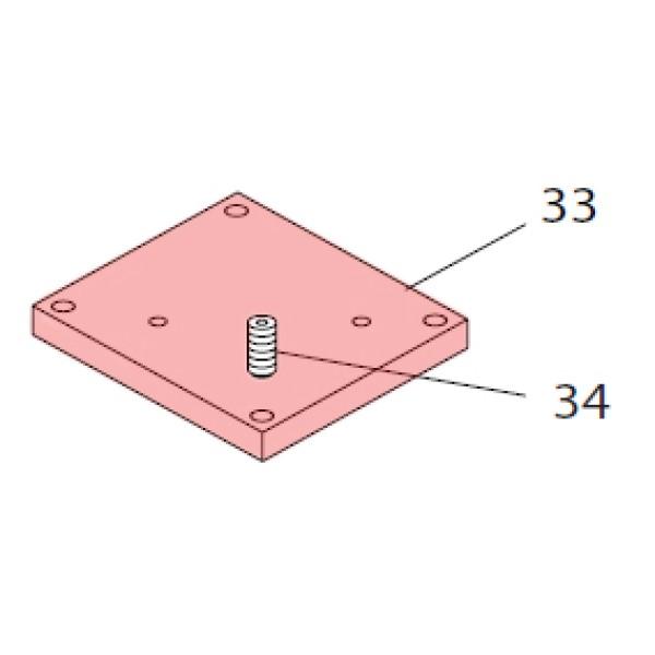 Leveling Plate - FAAC 7287515