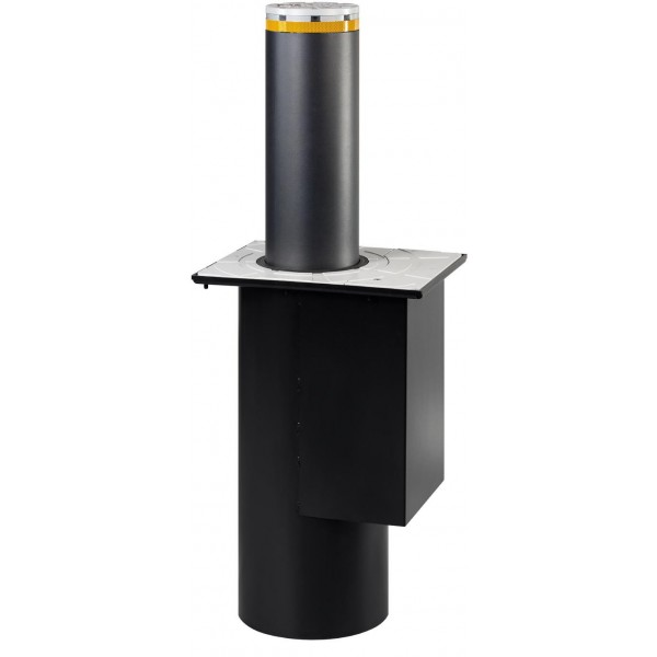 J200 SA 600 Semi-Automatic Retractable Bollard for Traffic Control in Painted Steel - FAAC 116508