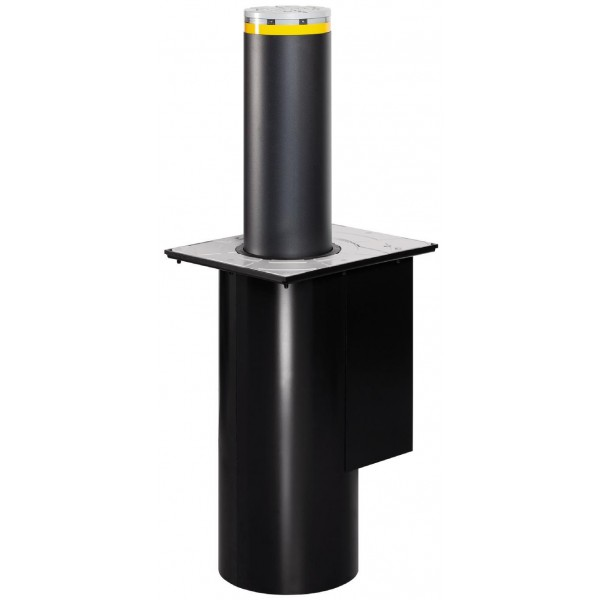 J200 HA 600 Automatic Retractable Bollard for Traffic Control in Stainless Steel - FAAC 116505
