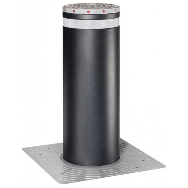 J355 HA M50 Automatic Retractable Security Bollard in Stainless Steel - FAAC 116381