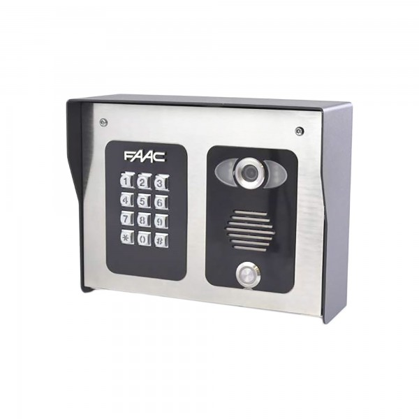 FCI 4000 Series 4G Cellular WiFi Video Intercom Entry System With Illuminated Keypad - FAAC 4402