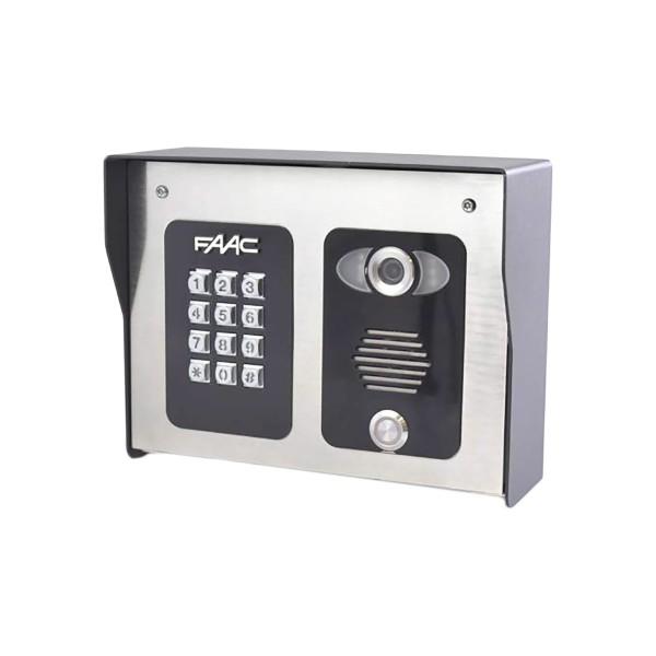 FCI 4000 Series 4G Cellular WiFi Video Intercom Entry System With Illuminated Keypad - FAAC 4402
