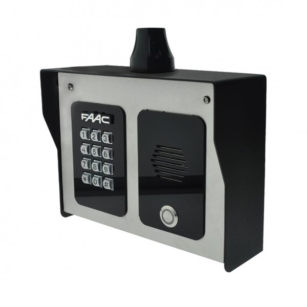 FCI 4000 Series 4G Cellular Intercom Entry System With Keypad and Camera - FAAC 4401 (Camera Model Not Shown)