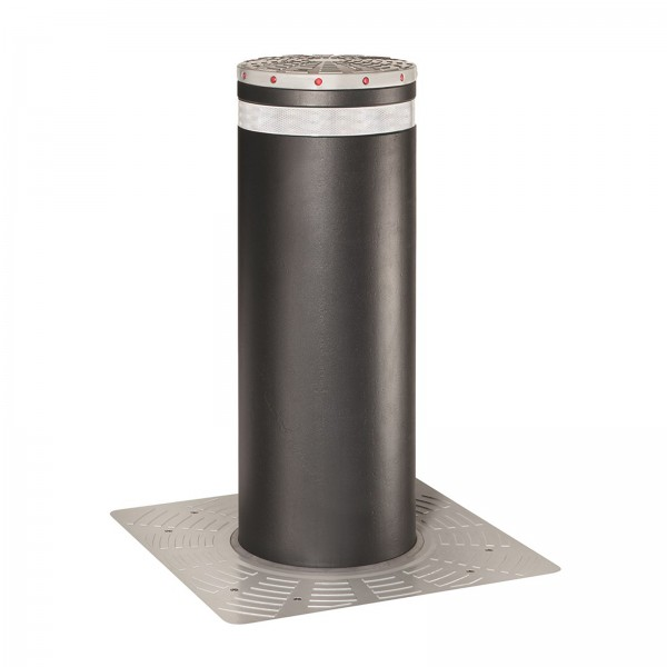 J355 HA M30-P1 Crash Rated Automatic Retractable Security Bollard (Stainless Steel) - FAAC 116331