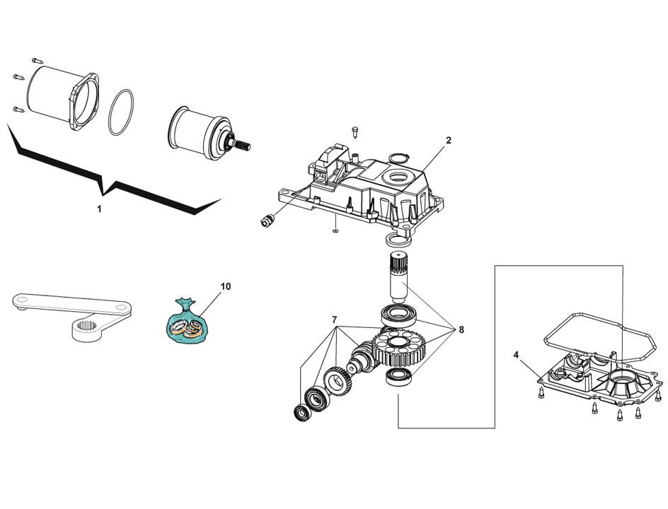 FAAC 770 Parts Diagram