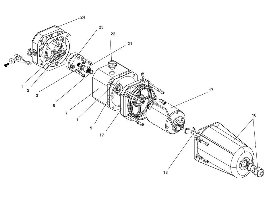 FAAC S800H SBW Parts Diagram