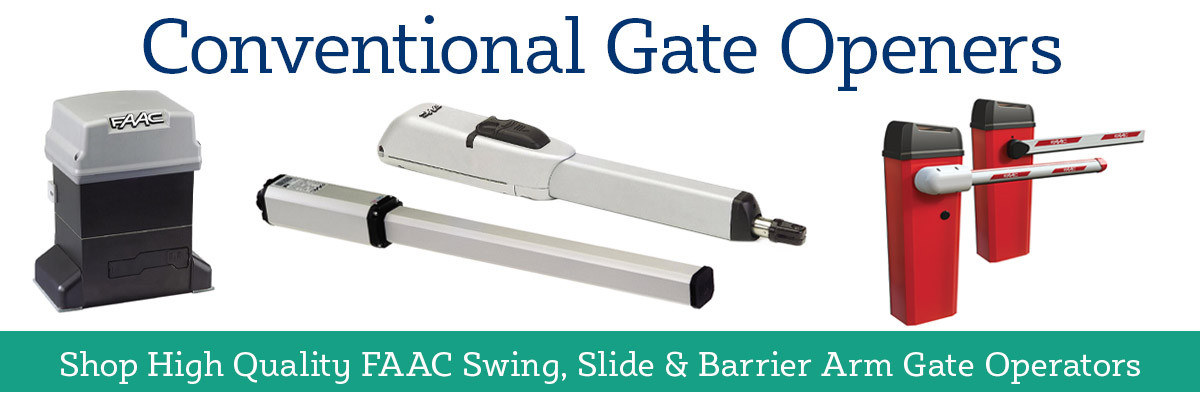 Shop FAAC Conventional Gate Openers