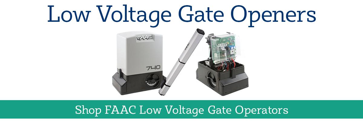 Shop FAAC Low Voltage Gate Operators