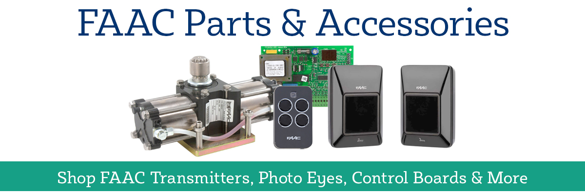 Shop FAAC Parts and Accessories